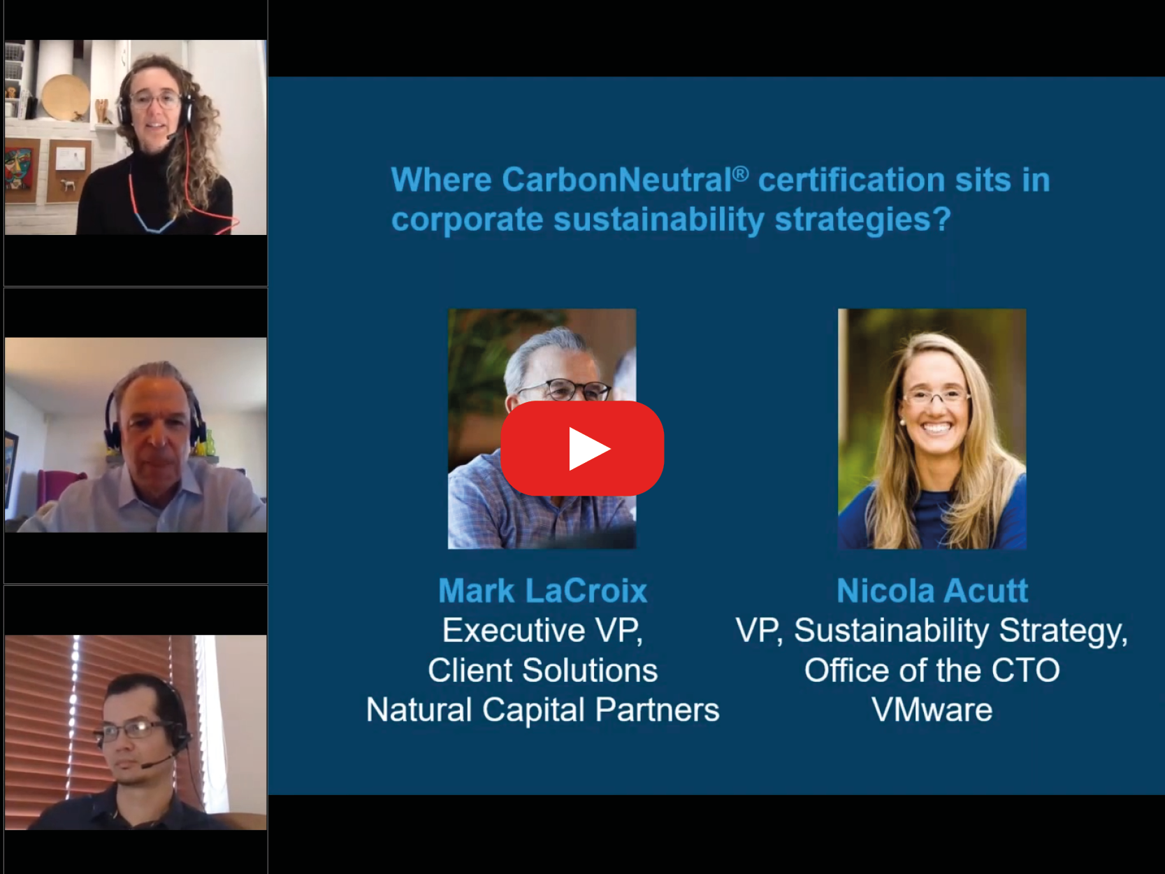 Where CarbonNeutral® certification sits in corporate sustainability strategies